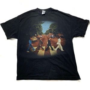"The Beatles ""Abby Road"" XL Men Shirt"